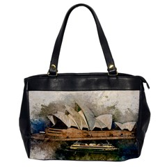 Sydney The Opera House Watercolor Office Handbags