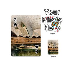 Sydney The Opera House Watercolor Playing Cards 54 (mini)