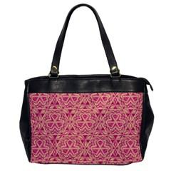 Tribal Pattern Hand Drawing Office Handbags