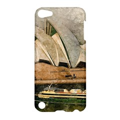Sydney The Opera House Watercolor Apple Ipod Touch 5 Hardshell Case