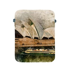 Sydney The Opera House Watercolor Apple Ipad 2/3/4 Protective Soft Cases