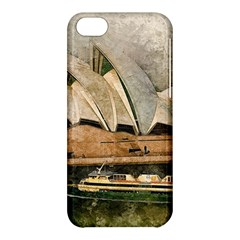 Sydney The Opera House Watercolor Apple Iphone 5c Hardshell Case