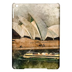 Sydney The Opera House Watercolor Ipad Air Hardshell Cases