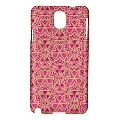Tribal Pattern Hand Drawing Samsung Galaxy Note 3 N9005 Hardshell Case