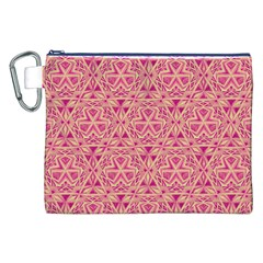 Tribal Pattern Hand Drawing Canvas Cosmetic Bag (xxl)
