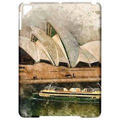 Sydney The Opera House Watercolor Apple Ipad Pro 9 7   Hardshell Case