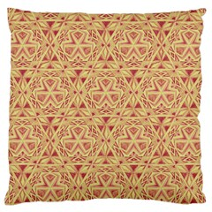 Tribal Pattern Hand Drawing 2 Large Cushion Case (two Sides)