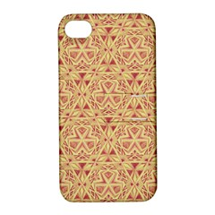 Tribal Pattern Hand Drawing 2 Apple Iphone 4/4s Hardshell Case With Stand