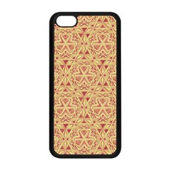 Tribal Pattern Hand Drawing 2 Apple Iphone 5c Seamless Case (black)