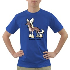 Chinese Crested Men s T Shirt (colored)