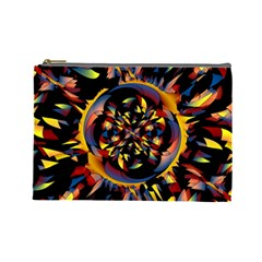 Spiky Abstract Cosmetic Bag (large)