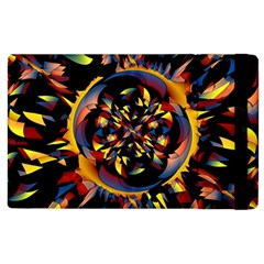 Spiky Abstract Apple Ipad 2 Flip Case