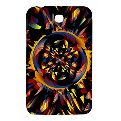 Spiky Abstract Samsung Galaxy Tab 3 (7 ) P3200 Hardshell Case