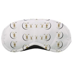 Angels Under The  Sun And Peace Doves Sleeping Masks