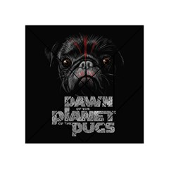 Dawn Of The Planet Of The Pugs Acrylic Tangram Puzzle (4  X 4 )