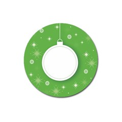 Christmas Bauble Ball Magnet 3  (round)