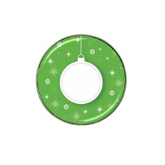 Christmas Bauble Ball Hat Clip Ball Marker (10 Pack)