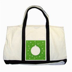 Christmas Bauble Ball Two Tone Tote Bag