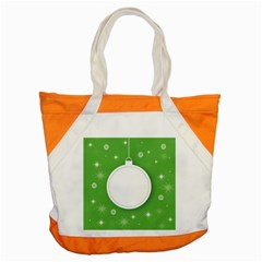 Christmas Bauble Ball Accent Tote Bag