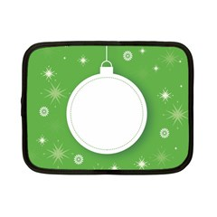 Christmas Bauble Ball Netbook Case (small)