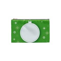 Christmas Bauble Ball Cosmetic Bag (small)