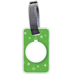 Christmas Bauble Ball Luggage Tags (one Side)