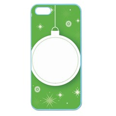 Christmas Bauble Ball Apple Seamless Iphone 5 Case (color)