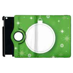 Christmas Bauble Ball Apple Ipad 2 Flip 360 Case