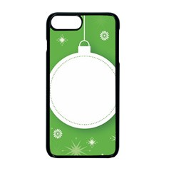 Christmas Bauble Ball Apple Iphone 7 Plus Seamless Case (black)