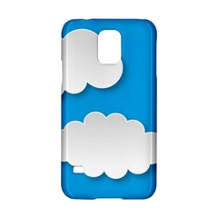 Clouds Sky Background Comic Samsung Galaxy S5 Hardshell Case