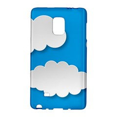 Clouds Sky Background Comic Galaxy Note Edge