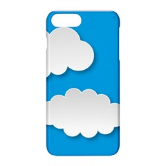 Clouds Sky Background Comic Apple Iphone 8 Plus Hardshell Case
