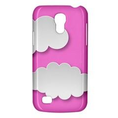 Clouds Sky Pink Comic Background Galaxy S4 Mini