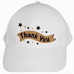 Thank You Lettering Thank You Ornament Banner White Cap