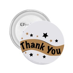 Thank You Lettering Thank You Ornament Banner 2 25  Buttons