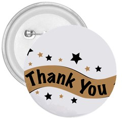 Thank You Lettering Thank You Ornament Banner 3  Buttons