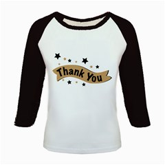 Thank You Lettering Thank You Ornament Banner Kids Baseball Jerseys