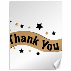 Thank You Lettering Thank You Ornament Banner Canvas 36  X 48