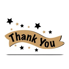 Thank You Lettering Thank You Ornament Banner Plate Mats