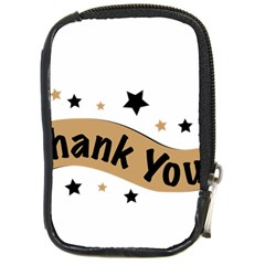 Thank You Lettering Thank You Ornament Banner Compact Camera Cases