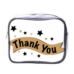 Thank You Lettering Thank You Ornament Banner Mini Toiletries Bags