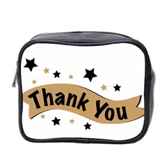 Thank You Lettering Thank You Ornament Banner Mini Toiletries Bag 2 Side