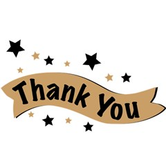 Thank You Lettering Thank You Ornament Banner Magic Photo Cubes