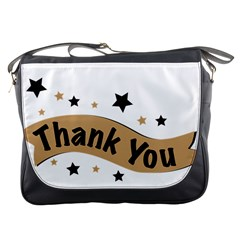 Thank You Lettering Thank You Ornament Banner Messenger Bags
