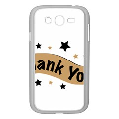 Thank You Lettering Thank You Ornament Banner Samsung Galaxy Grand Duos I9082 Case (white)