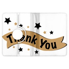 Thank You Lettering Thank You Ornament Banner Kindle Fire Hdx Flip 360 Case