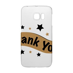 Thank You Lettering Thank You Ornament Banner Galaxy S6 Edge