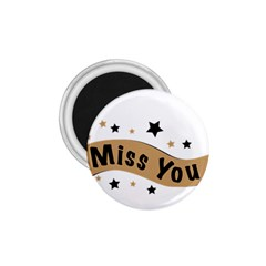 Lettering Miss You Banner 1 75  Magnets