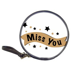 Lettering Miss You Banner Classic 20 Cd Wallets