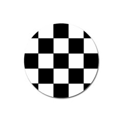 Grid Domino Bank And Black Magnet 3  (round)